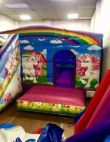 Low Height Unicorn Castle With Slide