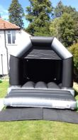 Black And Silver Velcro Castle