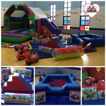 Superhero Softplay Package