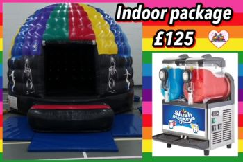 Disco Dome And Slush Package