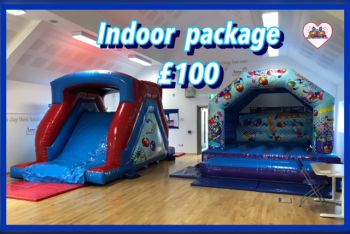 6ft Slide And Castle Package