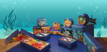 17pc Under The Sea Soft Play Shape Set & Ball Pool
