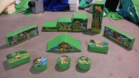 Jungle Fun Soft Play Set