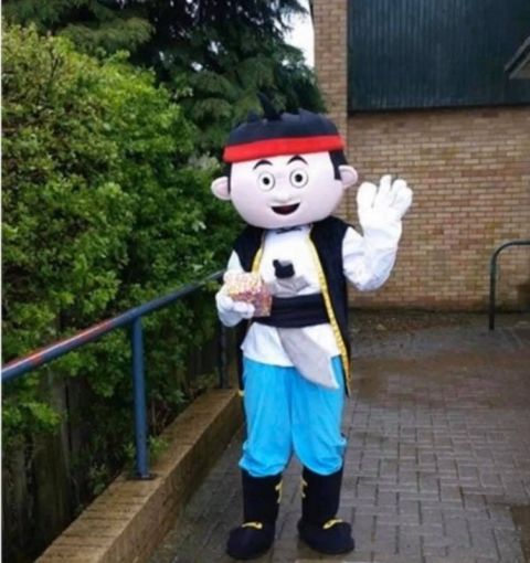 Jake Pirates Mascot