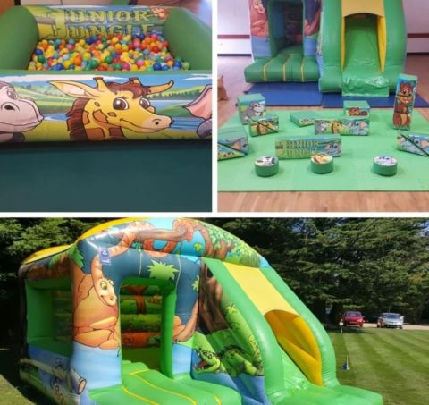 Junior Jungle Soft Play Package