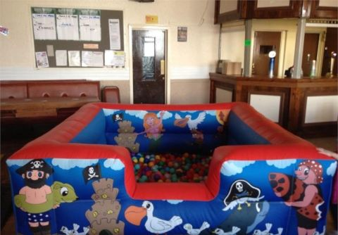 8ft X 8ft Pirate Ball Pit
