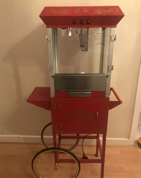 Popcorn Machine With Trolly