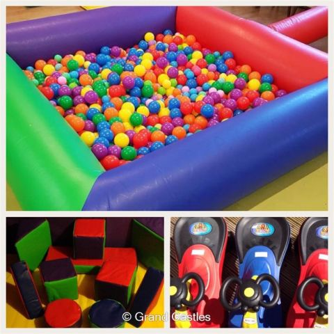Multi Colour Soft Play Package