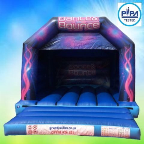 Dance And Bounce Childrens Bouncy Castle