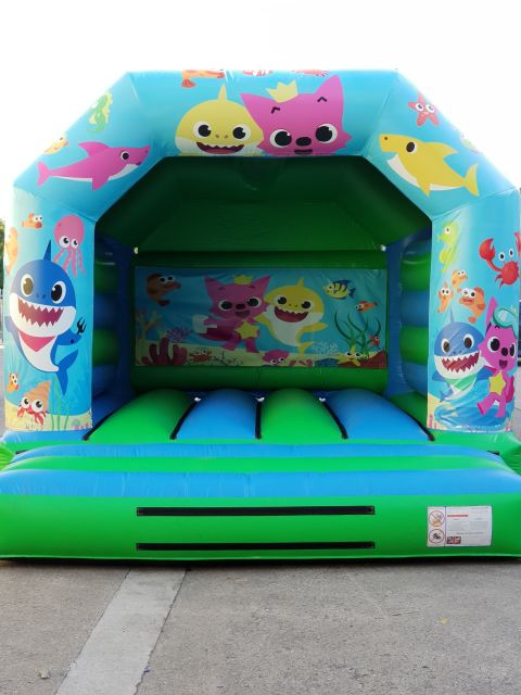 Baby Sharks Bouncy Castles