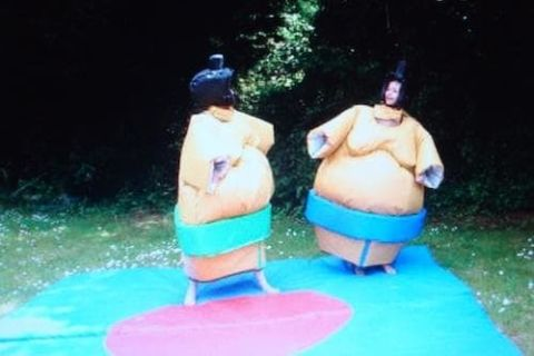 Sumo Suits Including Mats 10ftx10ft