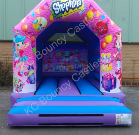 Shopkins 11ft X 14ft Bouncy Castles