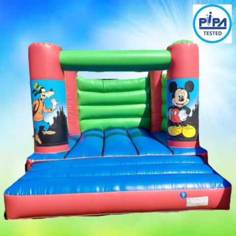 Mickey Goofy Bouncy Castle