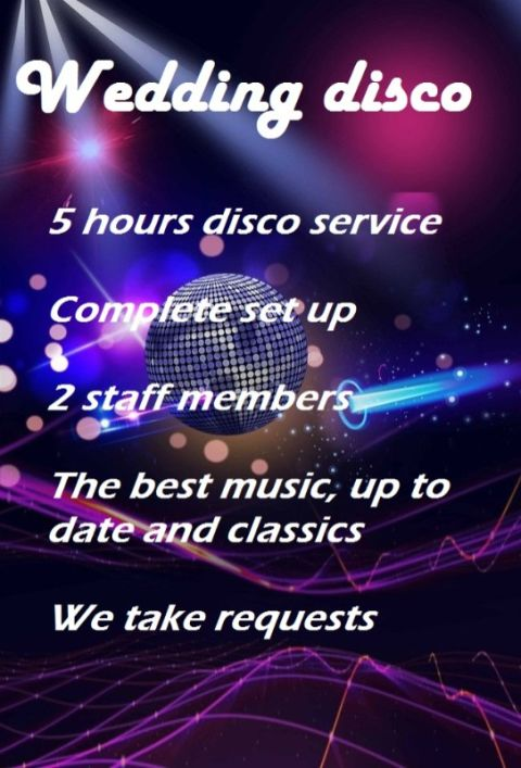 Wedding Disco Hire County Durham