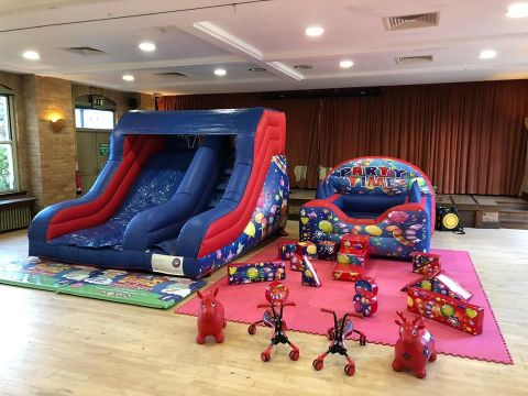 Party Slide & Soft Play
