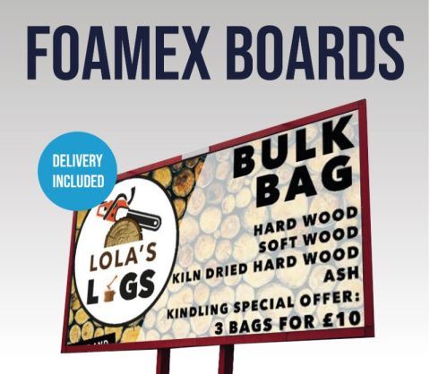 Foamex Boards - Single Sided