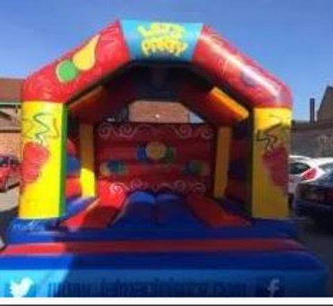 Lets Party Bouncy Castle For Adults 16 X 17 Feet