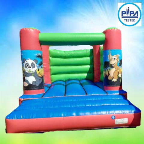 Jungle Animals Bouncy Castle