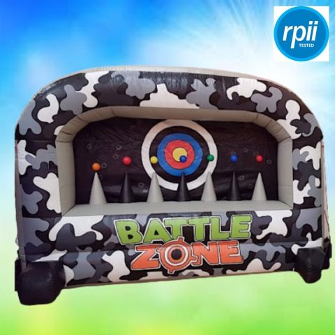 Battle Zone Inflatable Shooting Range