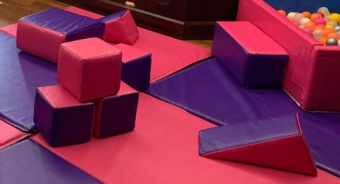 Pink/purple Softplay
