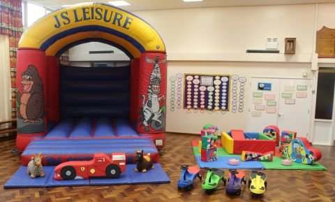 Animal Bouncy Castle & Soft Play Package