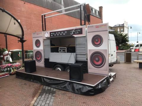 Boogiebox Pa Unit And Sound System