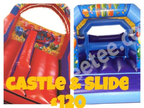 Bouncy Castle And Slide Package