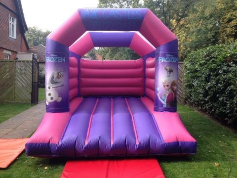 Small Princess Bouncy Castle