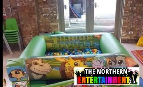 Jungle Ball Pool Kids Soft Play Hire County Durham