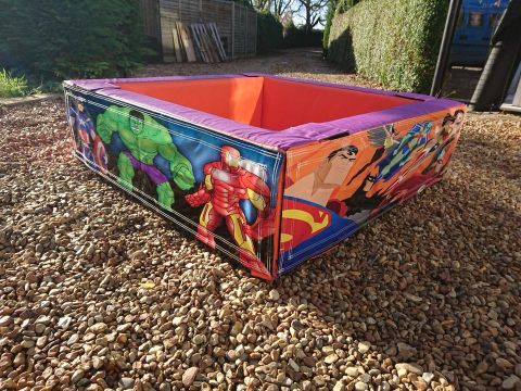 Superhero Ball Pit