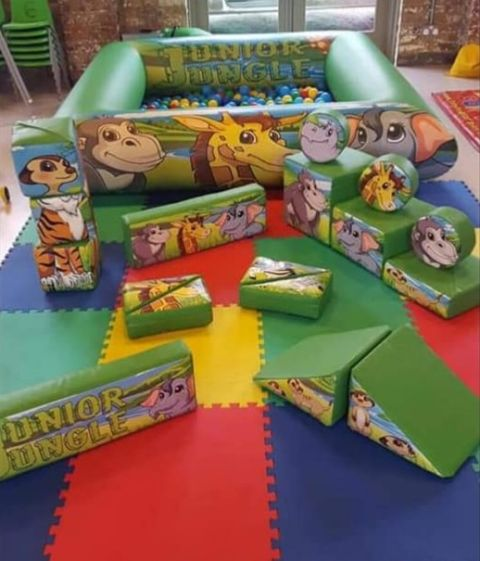 Jungle Soft Play Party Package