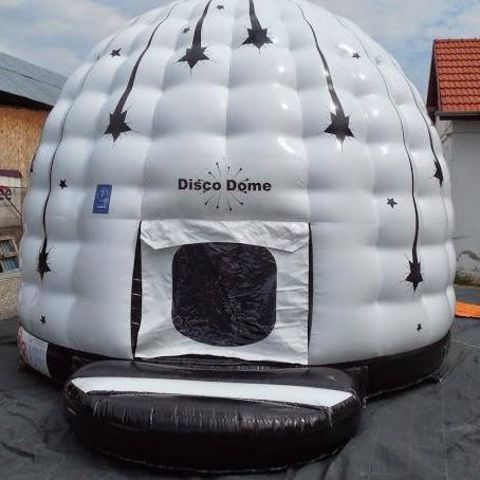 White Disco Dome (lrg) 16 X 20ft