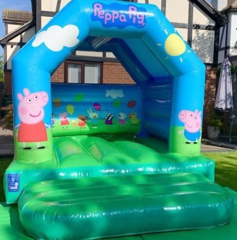 Peppa Pig Official Licensed Bouncy Castle
