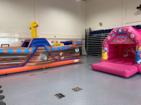 Pirate Obstacle Course And Any 12x14 Castle