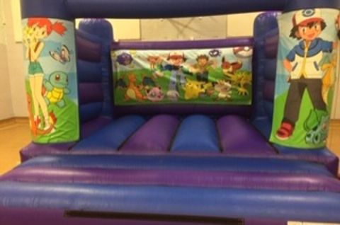 Pokemon Bouncy Castle - Slide