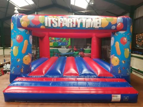 Large Party Theme Bouncy Castle