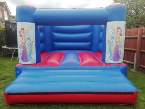 12 X 12 Princess Bouncy Castle