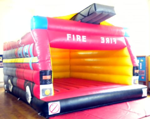 16x20ft Fire Engine With Shower Cover