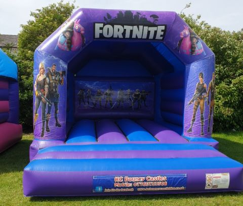 Fortnite Bouncy Castle Hire Liverpool