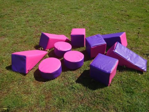 Pink And Purple 10pc Soft Play