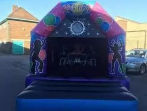 Disco Themed 12 X 14 Feet Castle