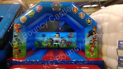 New 12ft X 15ft Paw Patrol Bouncy Castle For 2017
