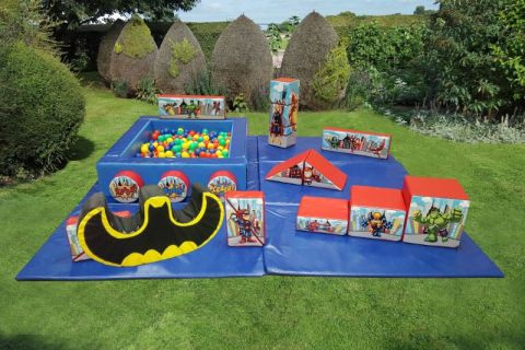 Superheroes Soft Play