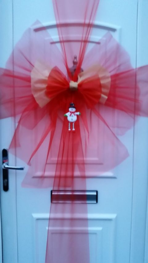 Christmas Door Bows