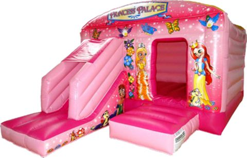 12x18ft Princess Bounce House