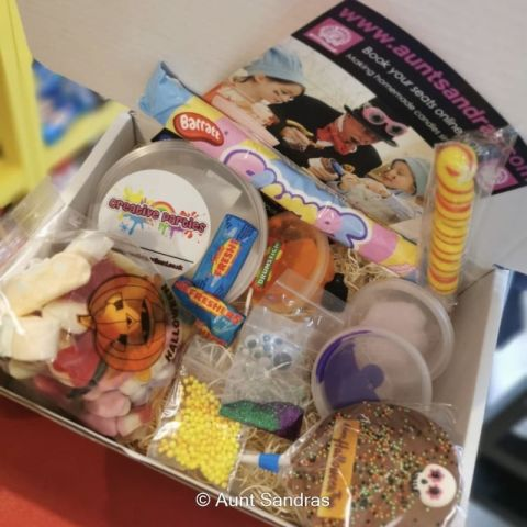 Halloween Slime Making Kit And Treats