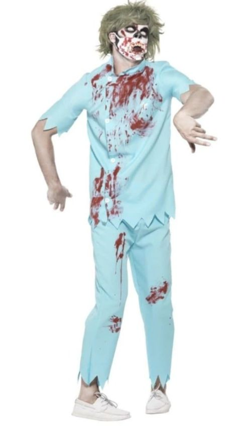 Zombie Dentist Fancy Dress Costume (medium)