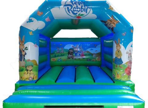 Peter Rabbit 12ft X 15ft Bouncy Castle Hire Liverpool