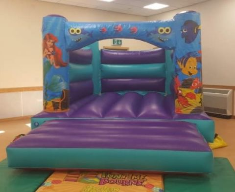 Aqua Under The Sea H Style Bouncy Castle