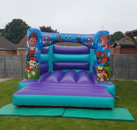 Aqua Pups H Bouncy Castle